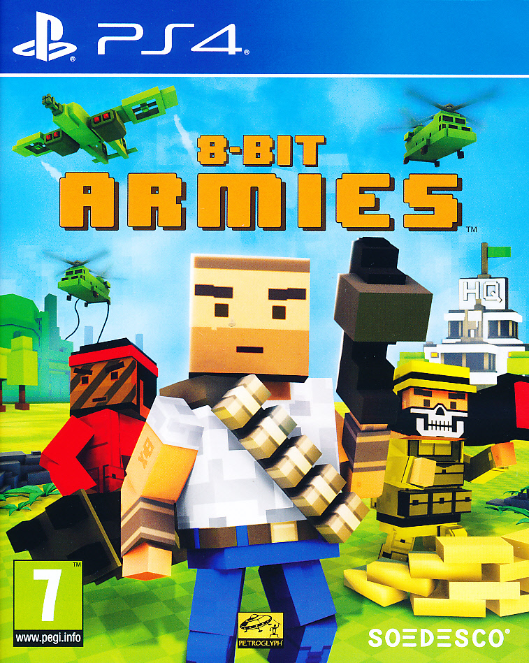 "Packshot for ""8-Bit Armies PS4"""