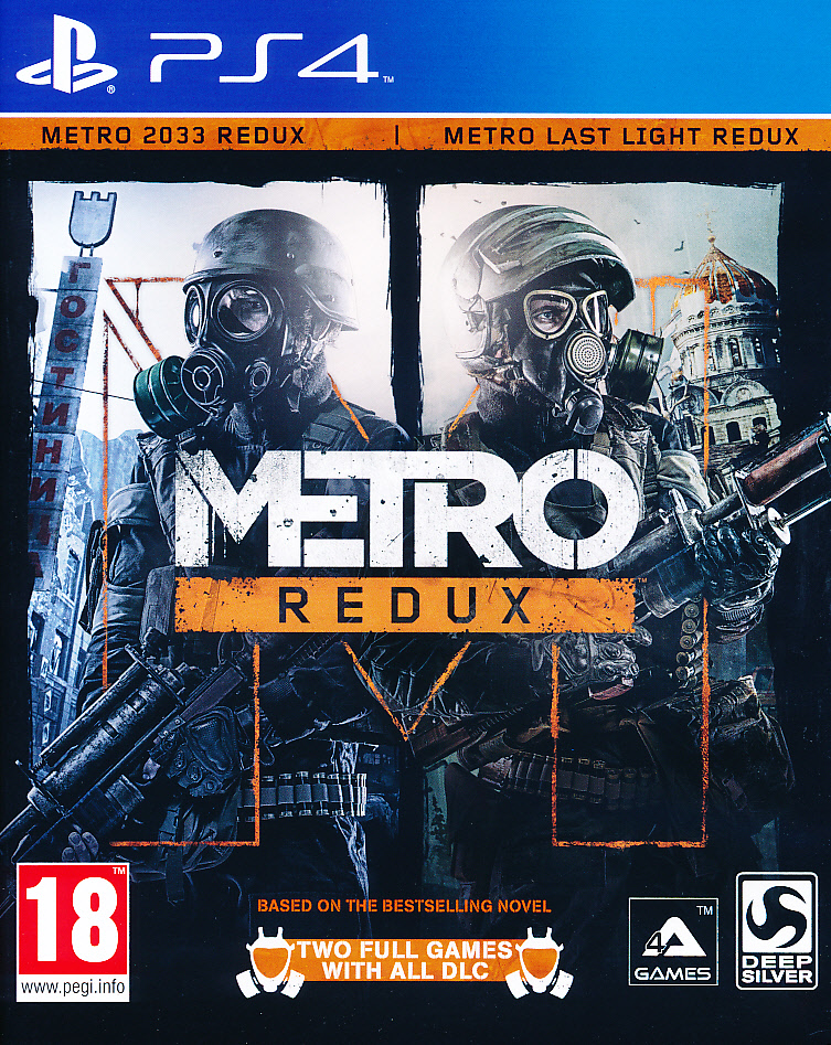 "Packshot for ""Metro Redux PS4"""