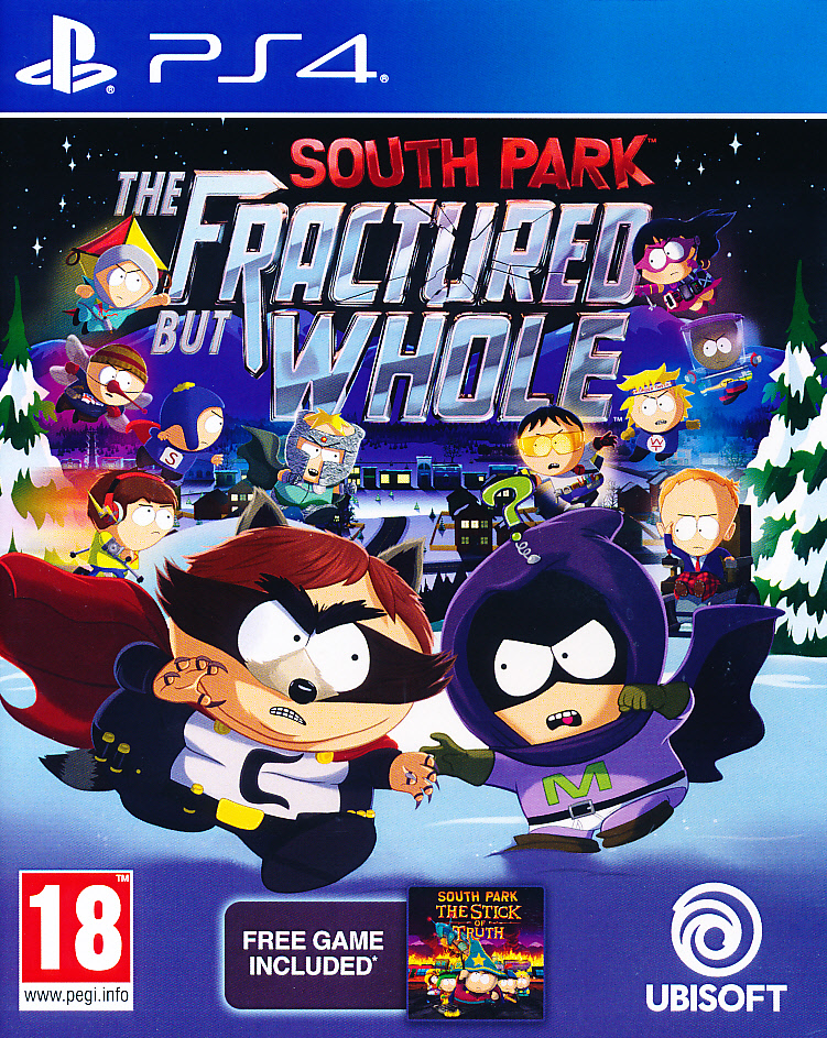"Packshot for ""South Park Fractured but Whole PS4"""