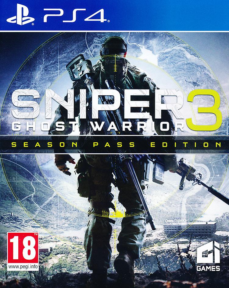 """Packshot for """"Sniper Ghost Warrior 3 PS4"""""""