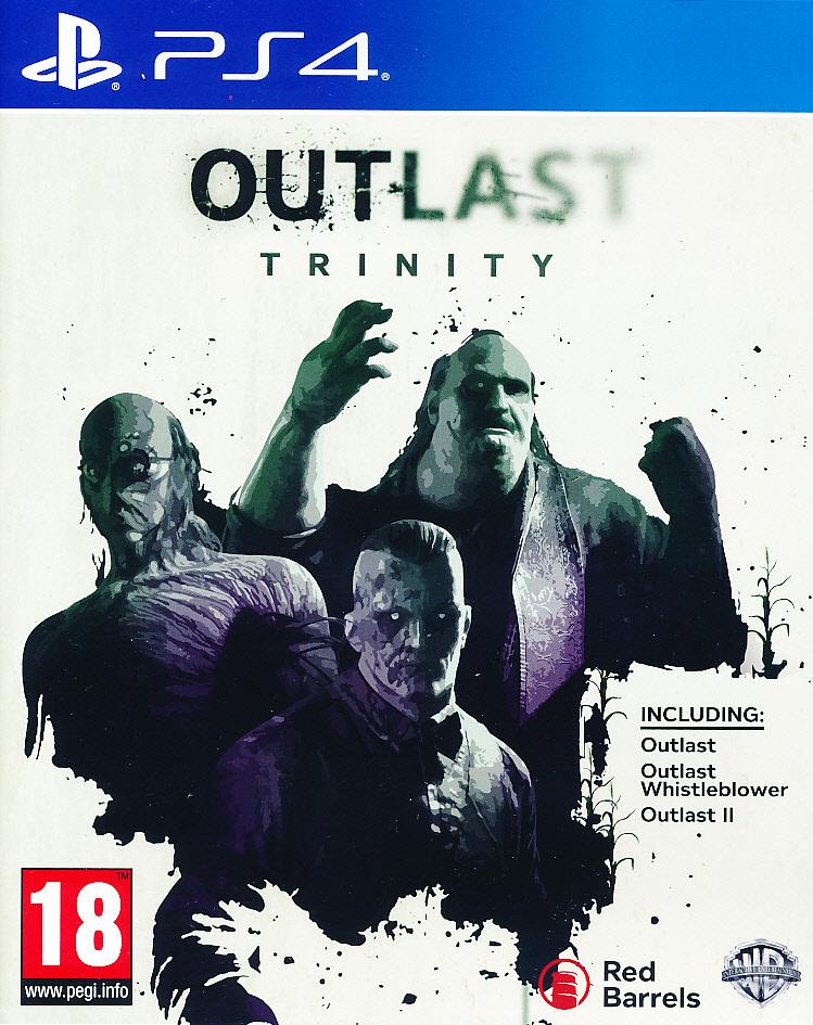 """Packshot for """"Outlast Trinity PS4"""""""
