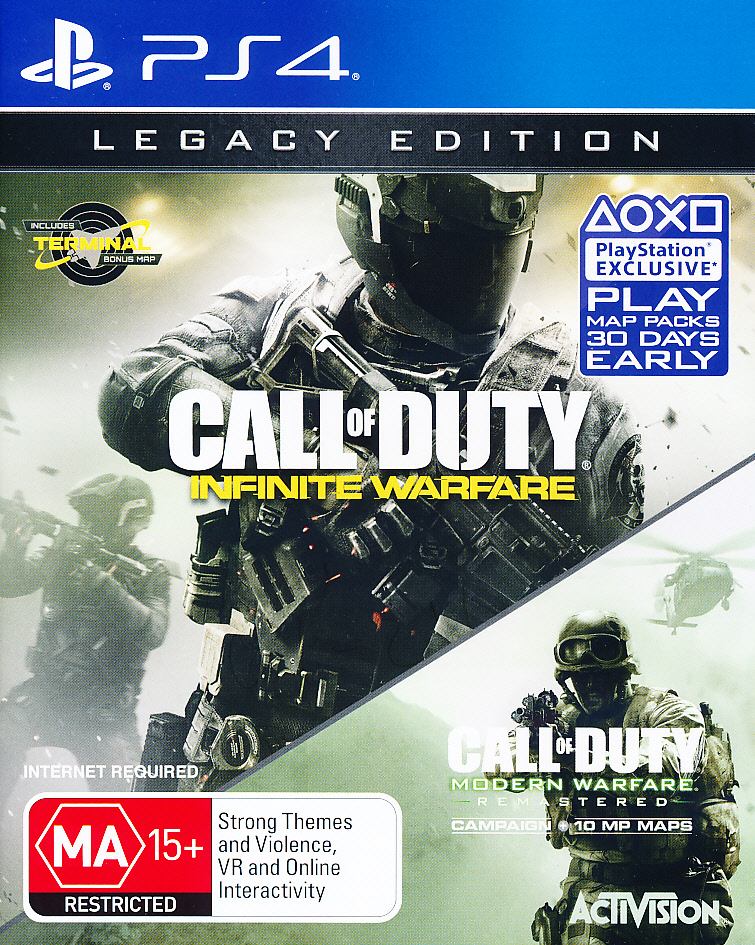 "Packshot for ""Call of Duty Infinite W. Legacy PS4"""