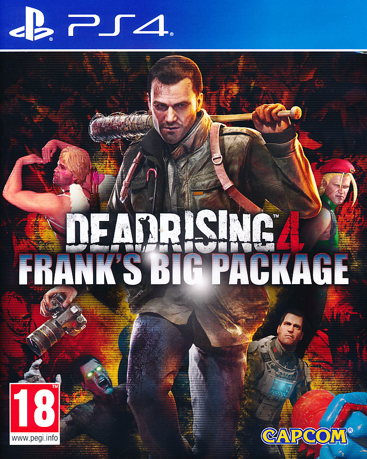 "Packshot for ""Dead Rising 4 PS4"""