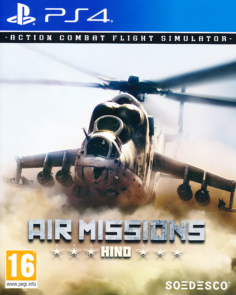 "Packshot for ""Air Missions Hind PS4"""