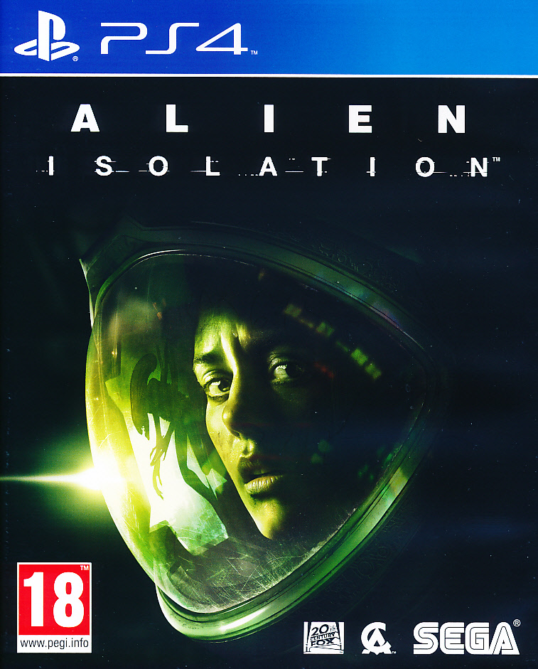 "Packshot for ""Alien Isolation PS4"""