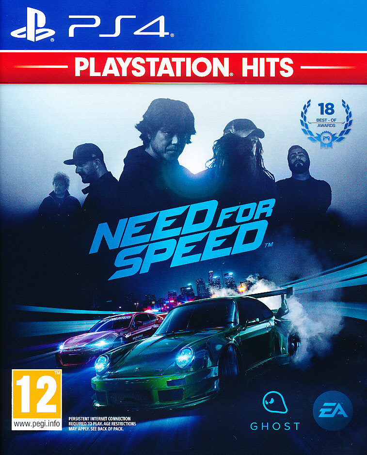 "Packshot for ""Need For Speed PS4"""