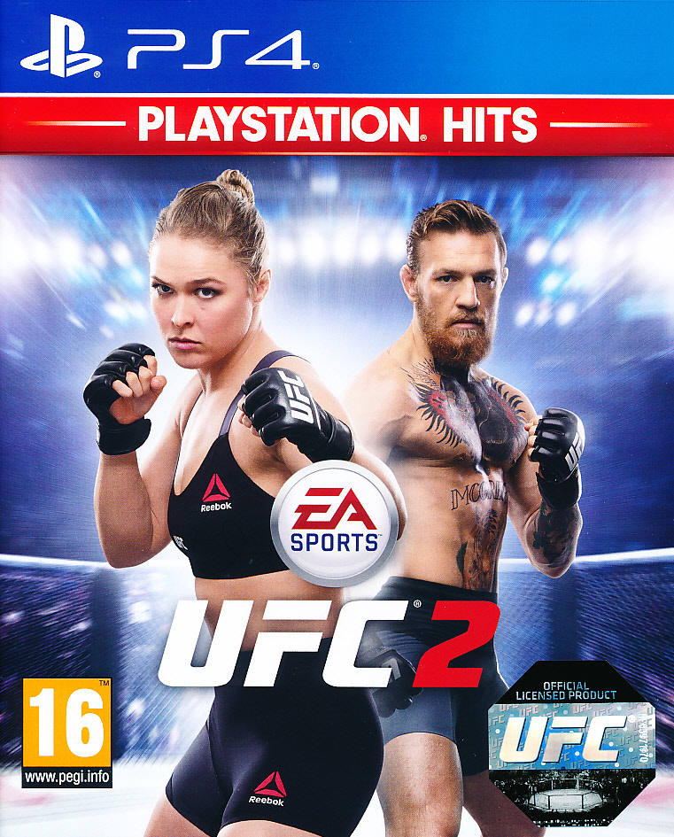"Packshot for ""EA Sports UFC 2 PS4"""
