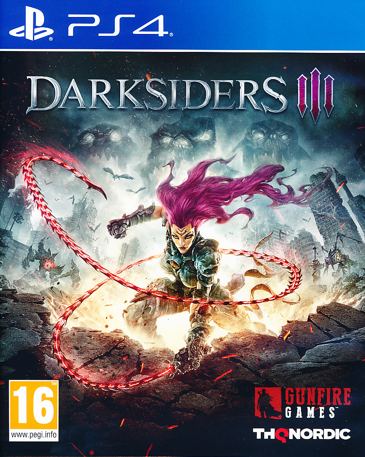 "Packshot for ""Darksiders 3 PS4"""