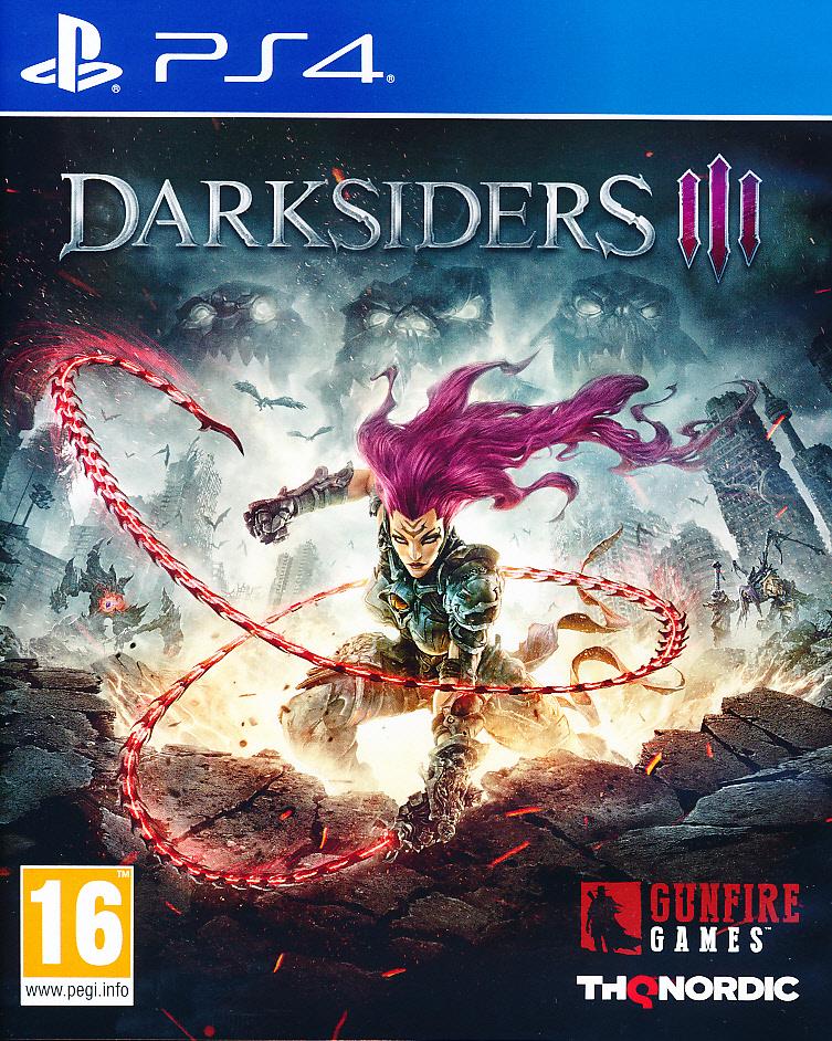 """Packshot for """"Darksiders 3 PS4"""""""