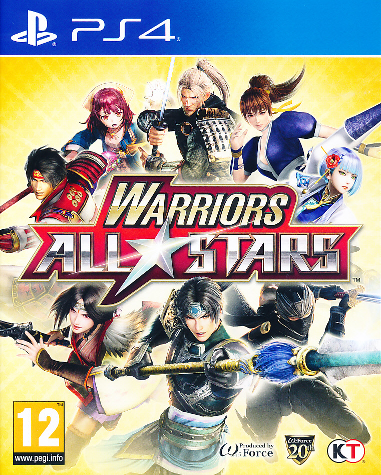 "Packshot for ""Warriors All Stars PS4"""