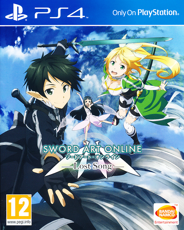 "Packshot for ""Sword Art Online Lost Song PS4"""