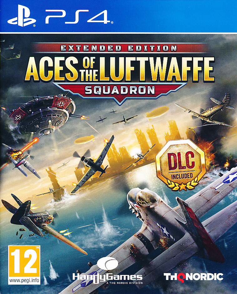"Packshot for ""Aces of the Luftwaffe PS4"""