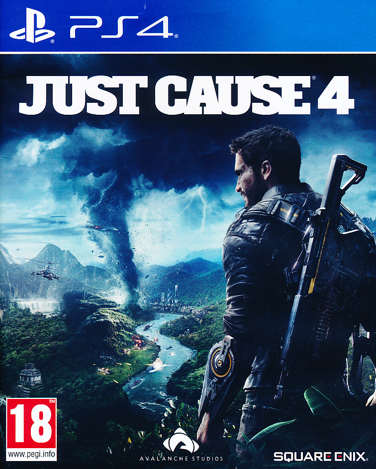 Just Cause 4 PS4 (laos)