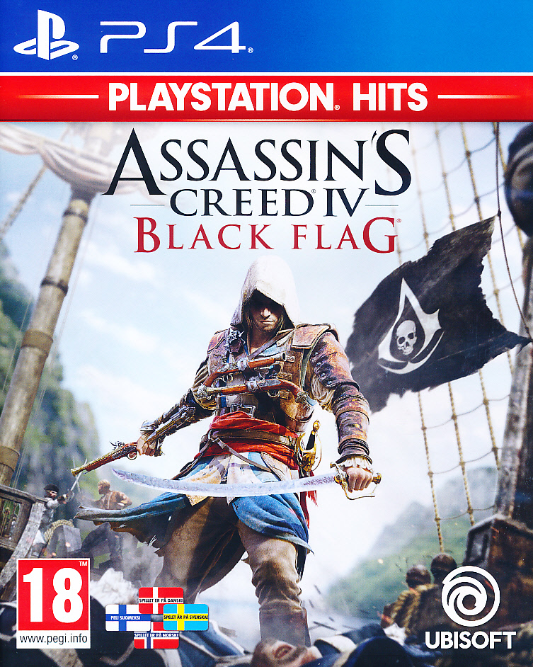 "Packshot for ""Assassins Creed 4 B. Flag NORD PS4"""