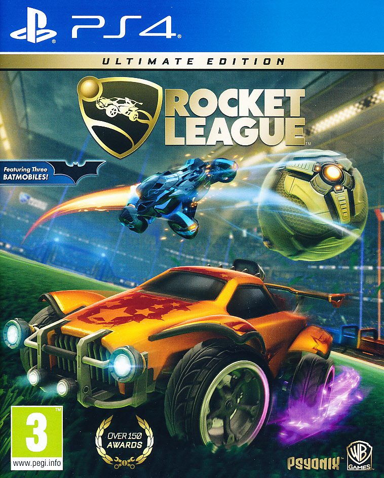 "Packshot for ""Rocket League Ultimate Ed. PS4"""