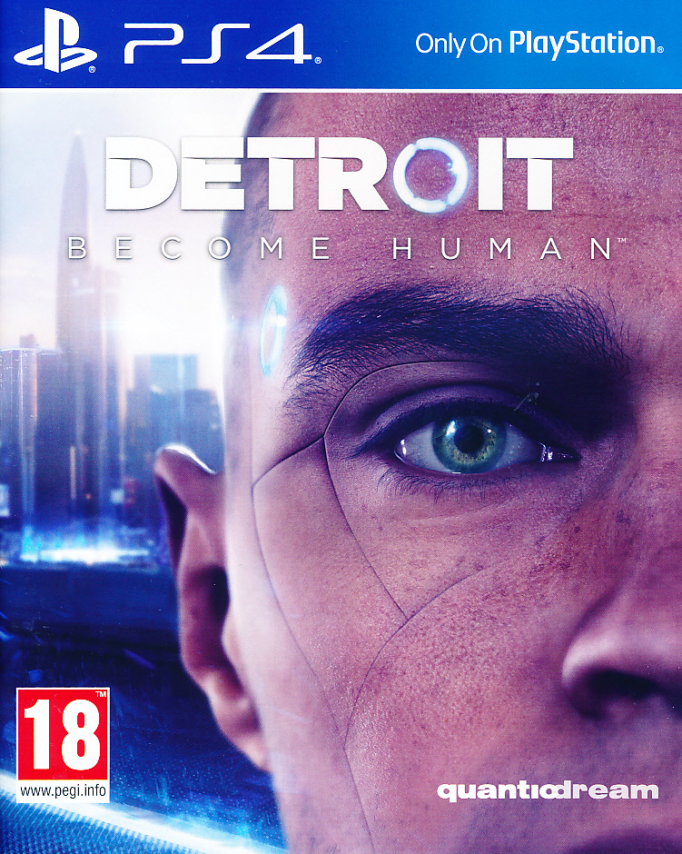 "Packshot for ""Detroit Become Human PS4"""