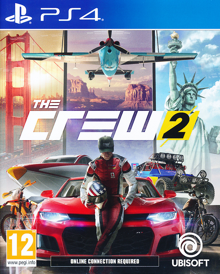 "Packshot for ""The Crew 2 PS4"""