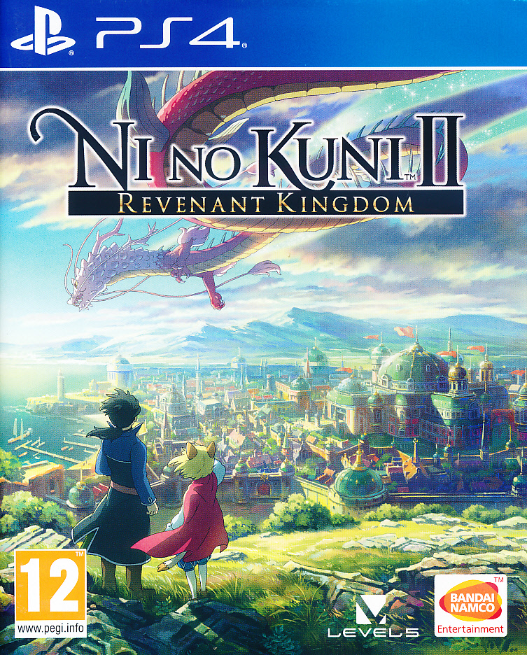 "Packshot for ""Ni No Kuni 2 Revenant Kingdom PS4"""