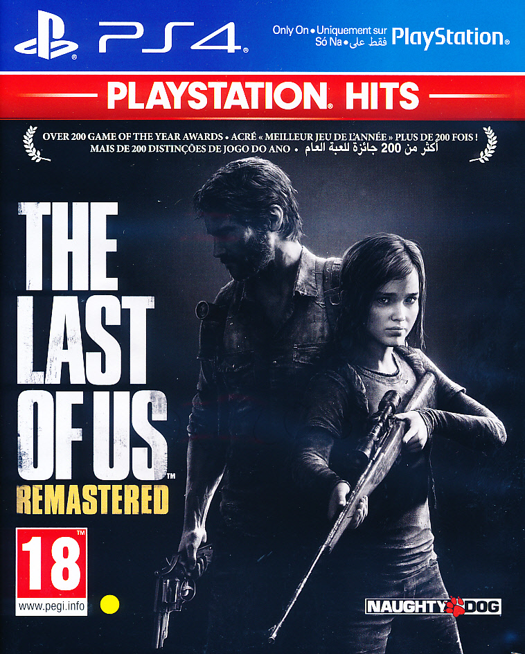 "Packshot for ""Last of Us Remastered PS4"""