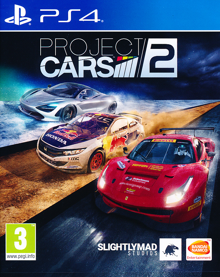 "Packshot for ""Project Cars 2 PS4"""