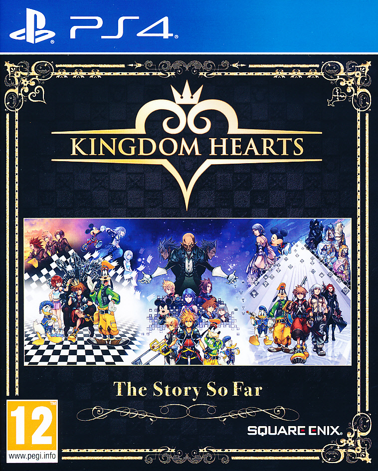 "Packshot for ""Kingdom Hearts The Story So Far PS4"""