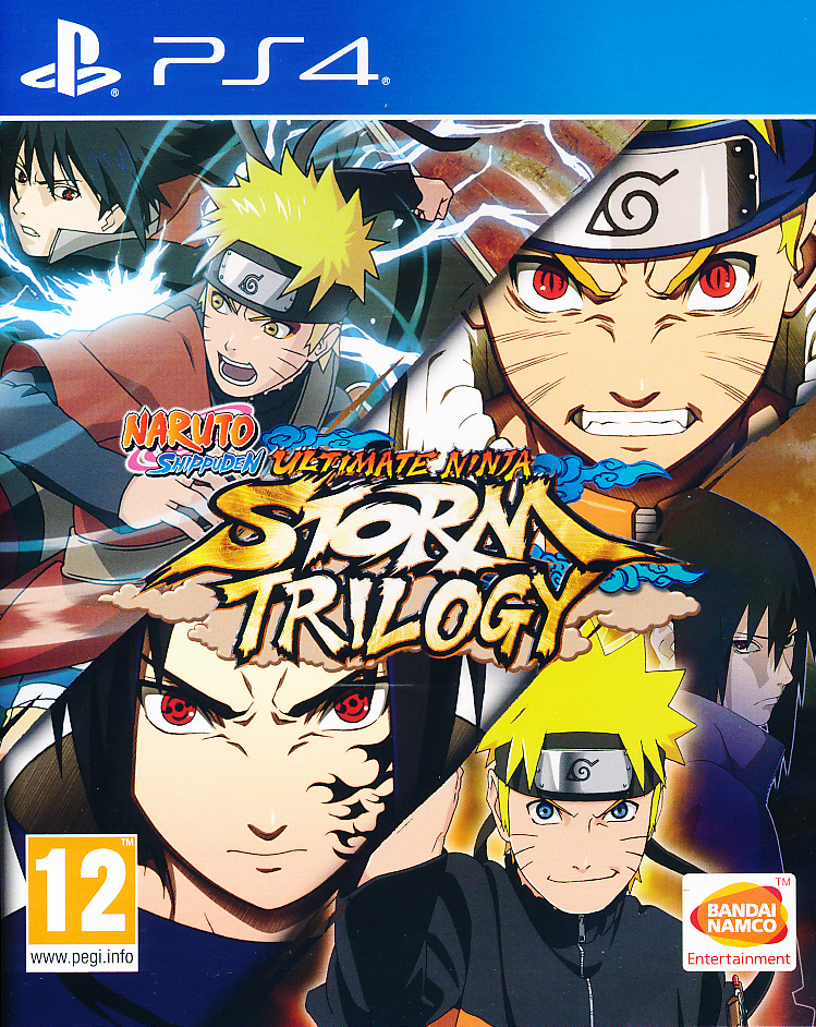 "Packshot for ""Naruto Ult. Ninja Storm Trilogy PS4"""