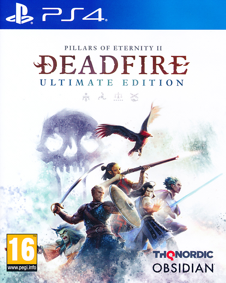"Packshot for ""Pillars of Eternity 2 Deadfire PS4"""