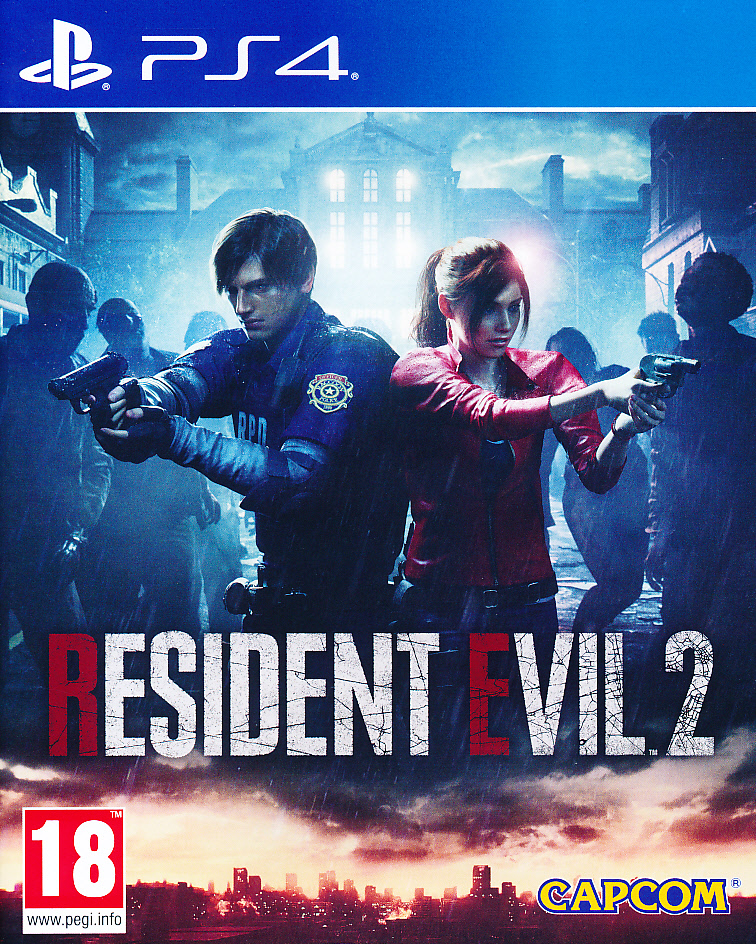 "Packshot for ""Resident Evil 2 Remake PS4"""