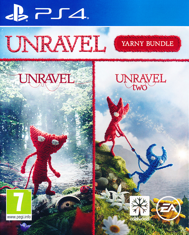"Packshot for ""Unravel Yarny Bundle NORD PS4"""