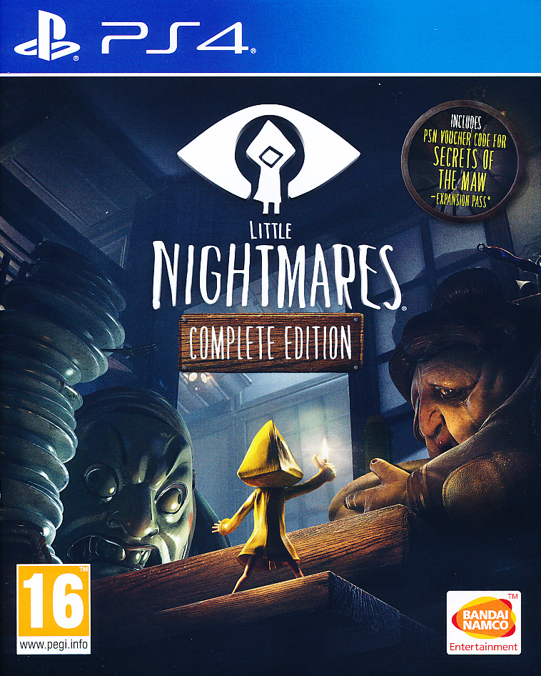 "Packshot for ""Little Nightmares Complete Ed. PS4"""