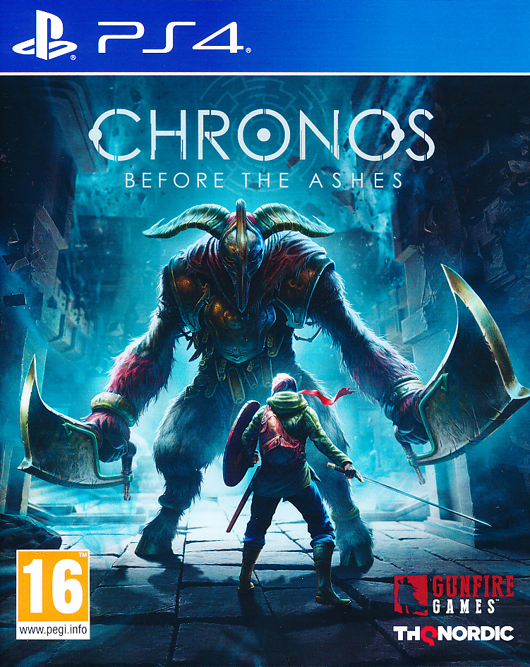 "Packshot for ""Chronos Before the Ashes PS4"""