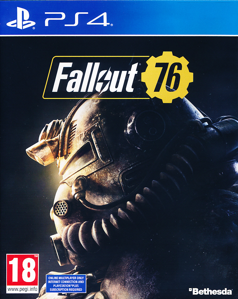 "Packshot for ""Fallout 76 PS4"""