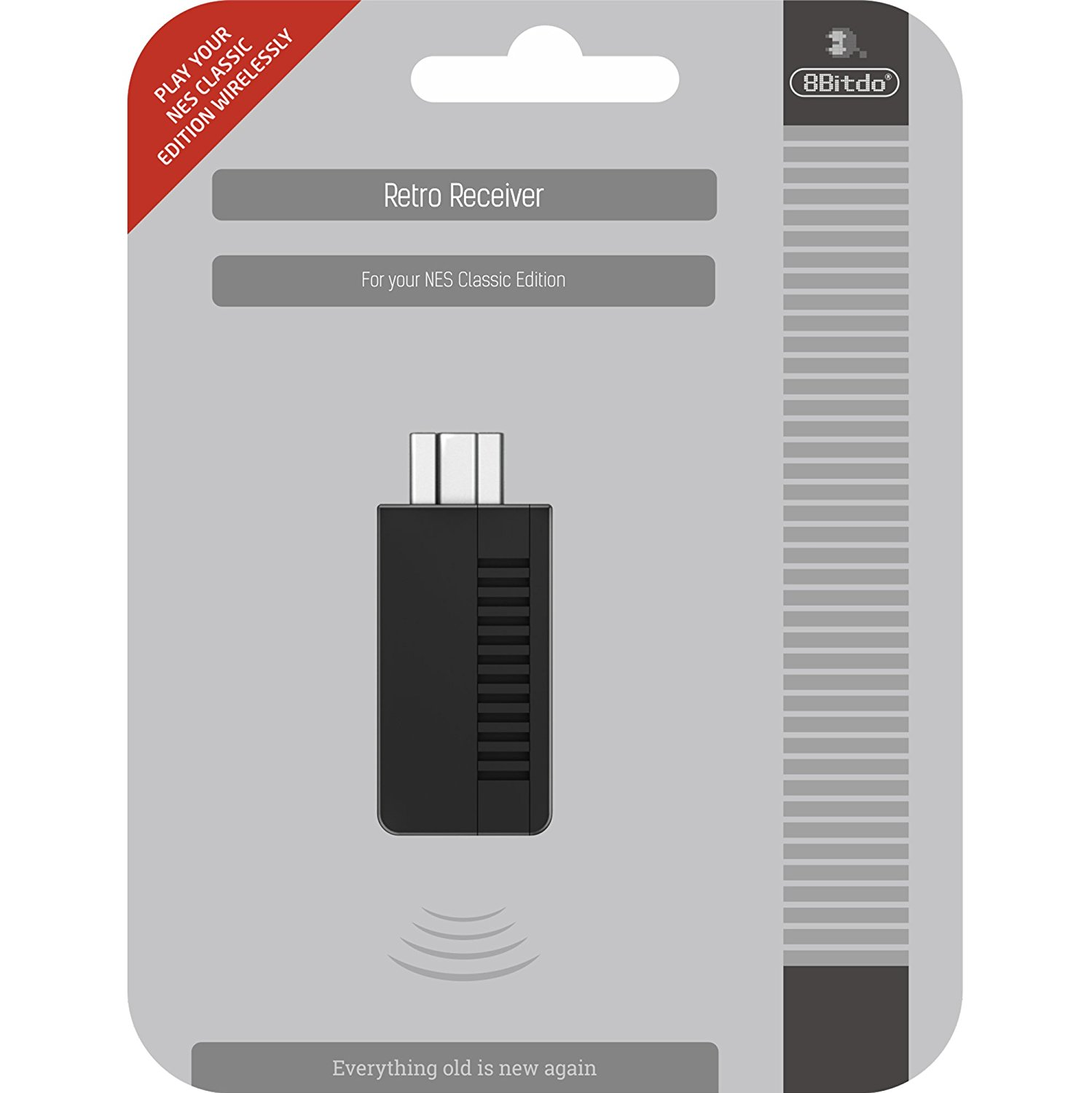 "Packshot for ""8Bitdo BT Retro Receiver NES Mini"""