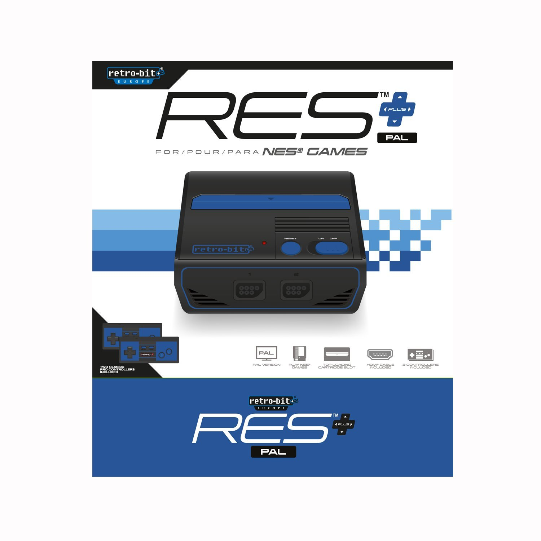 "Packshot for ""Retro-Bit RES+ HD PAL"""