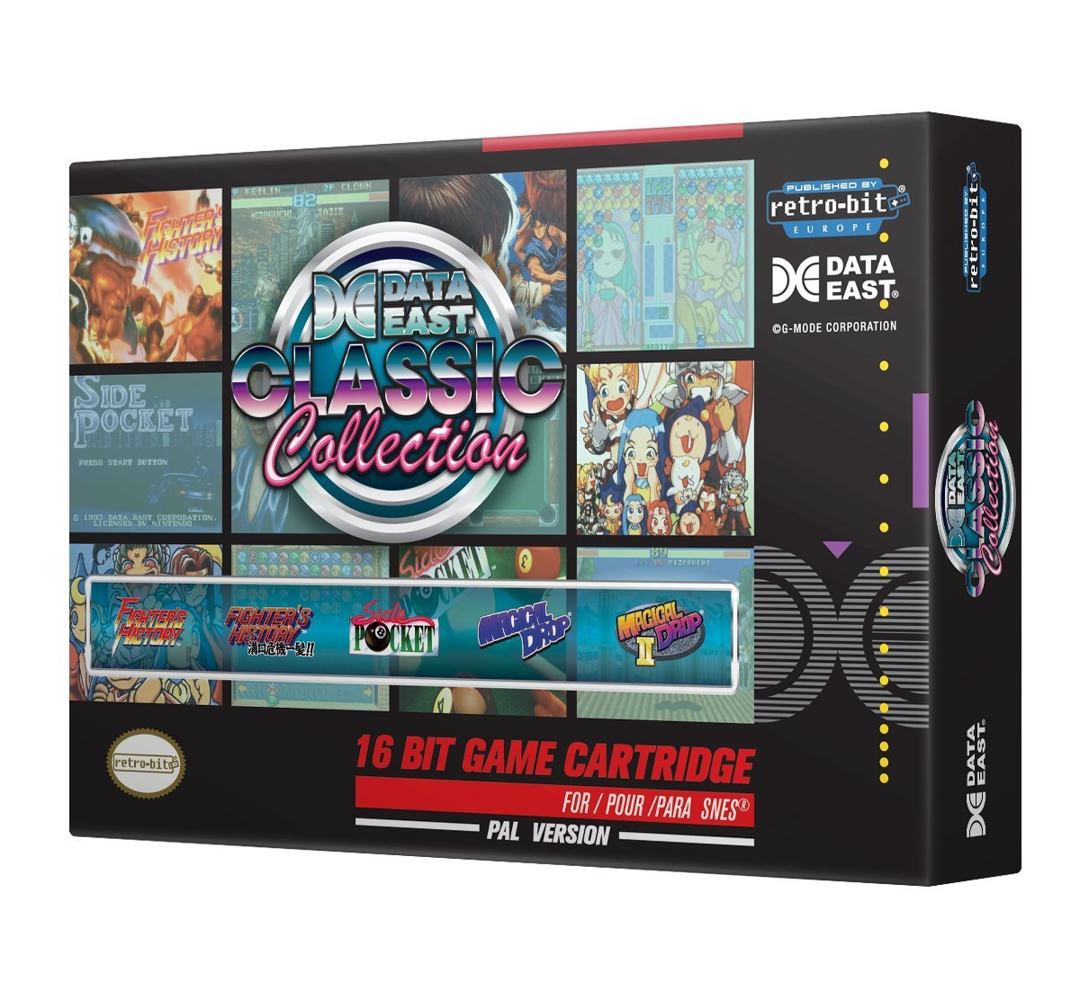 "Packshot for ""Retro-Bit Data East Class.Coll SNES"""