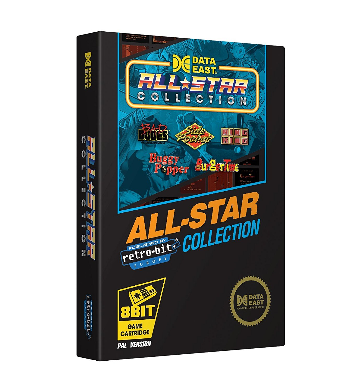 """Packshot for """"Retro-Bit Data East All Star NES"""""""