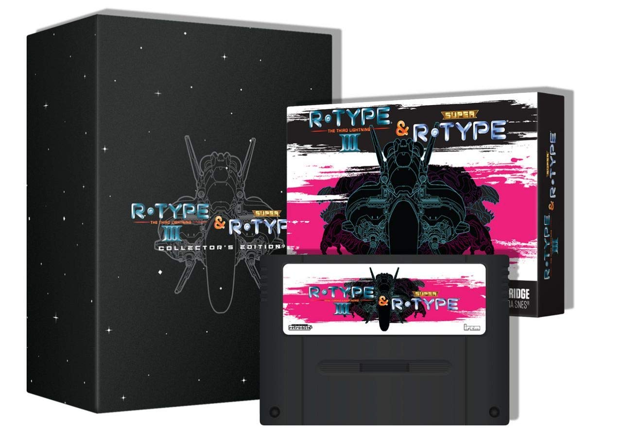 "Packshot for ""Retro-Bit R-Type Returns CE SNES"""