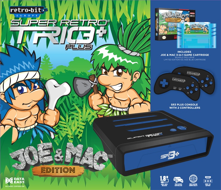 "Packshot for ""Super Retro Trio + Joe & Mac Bundle"""