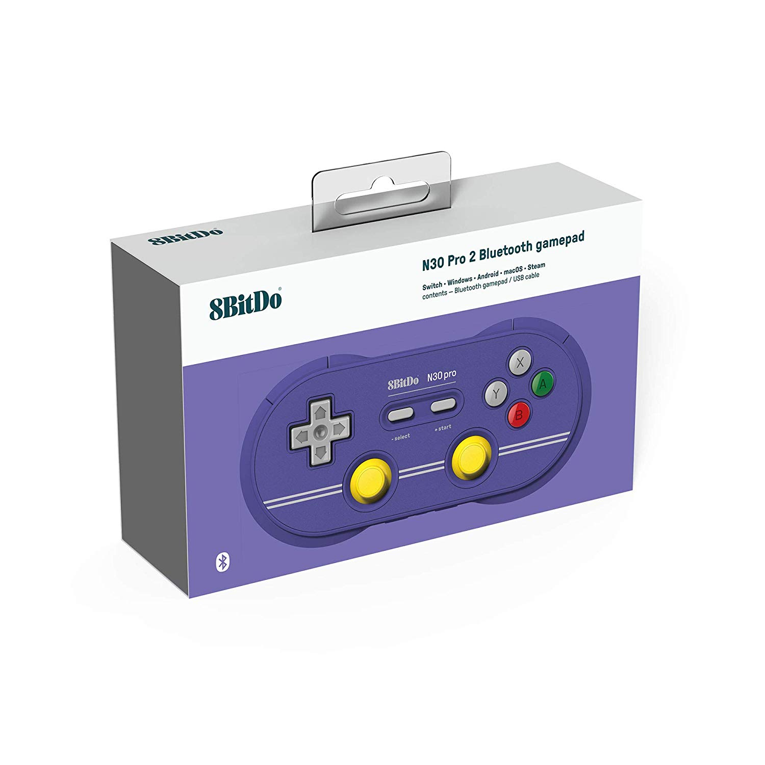 "Packshot for ""8Bitdo N30 Pro2 C Edition Gamepad"""