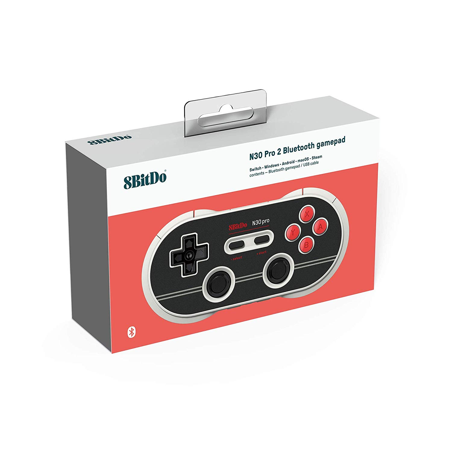 "Packshot for ""8bitdo N30 Pro2 N Edition Gamepad"""