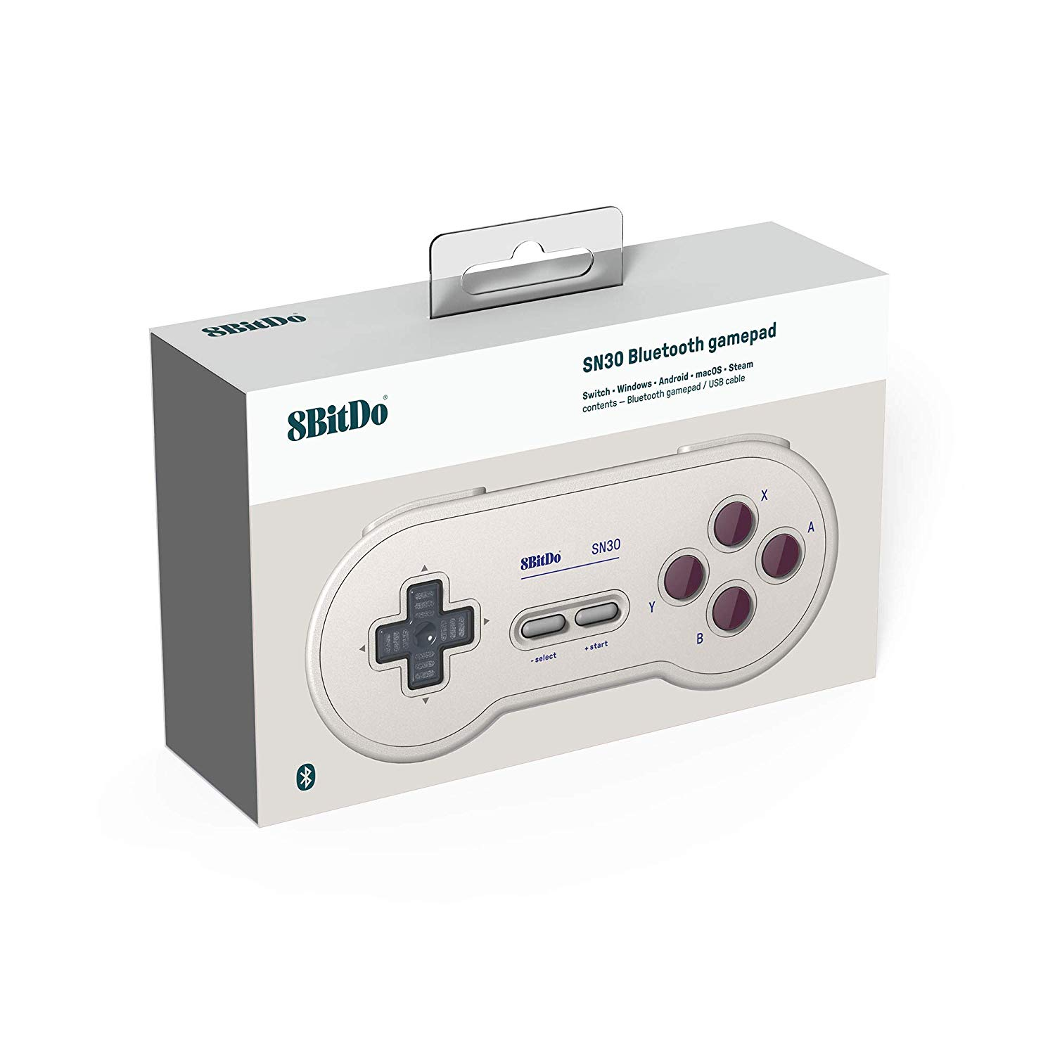 "Packshot for ""8Bitdo SN30 G Classic Ed. Gamepad"""