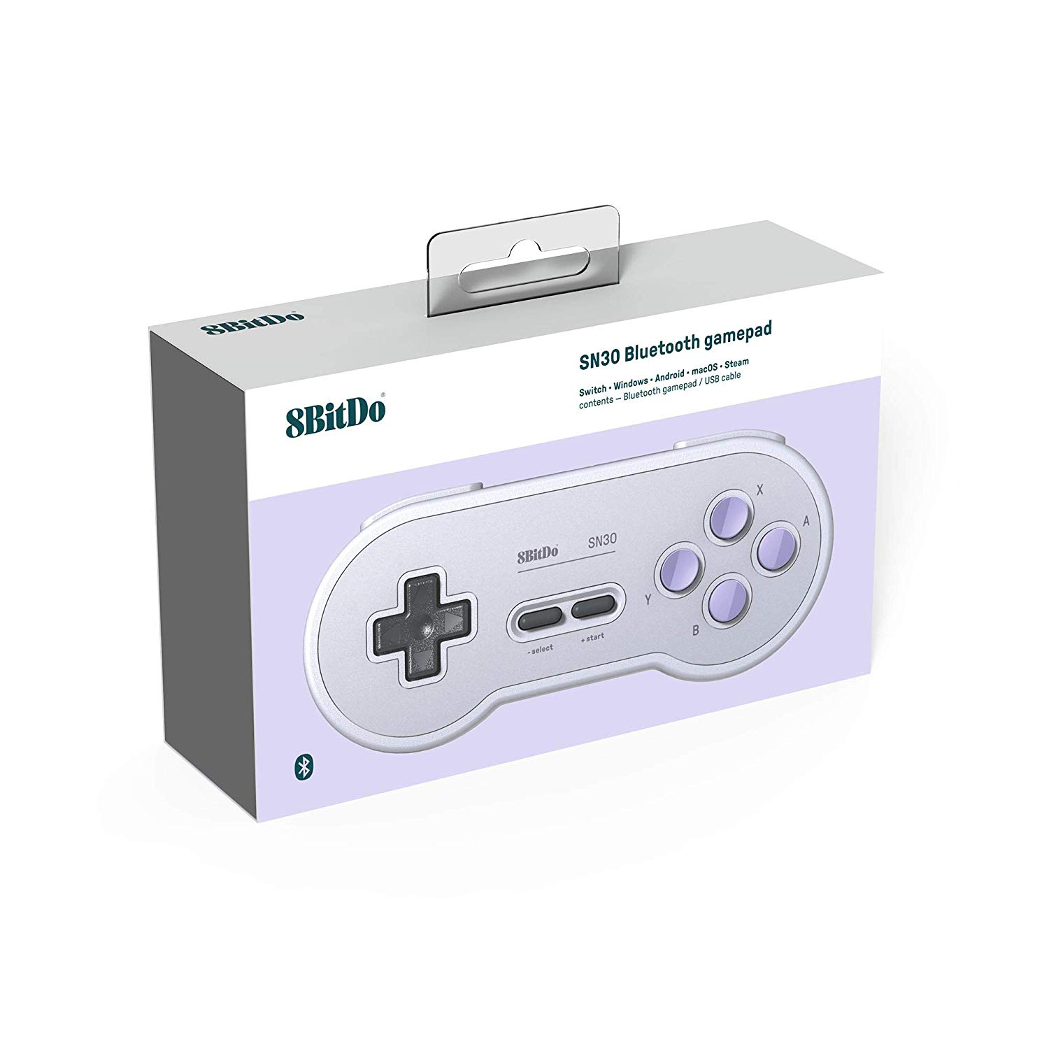 "Packshot for ""8Bitdo SN30 SN Edition Gamepad"""