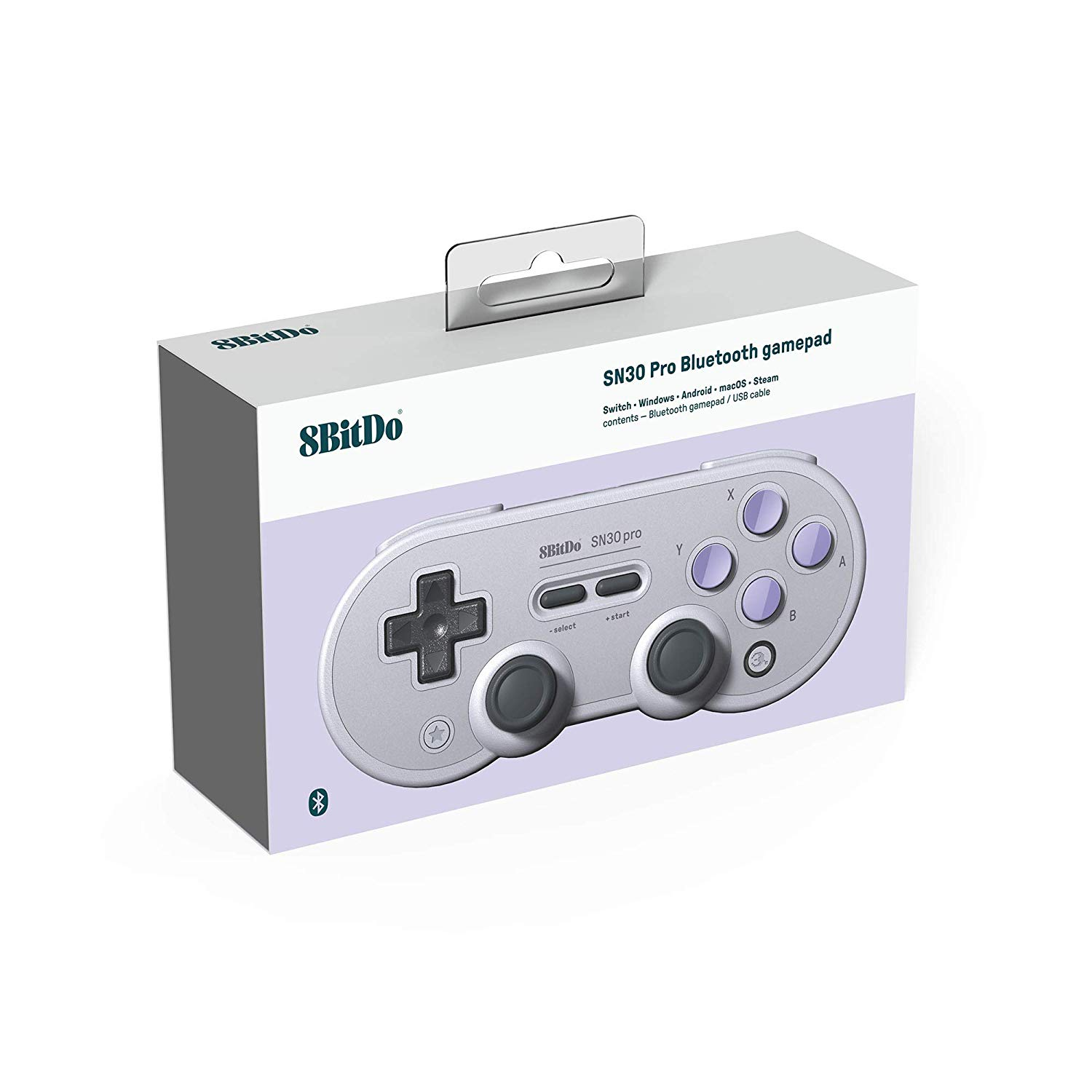 "Packshot for ""8Bitdo SN30 Pro SN Edition Gamepad"""