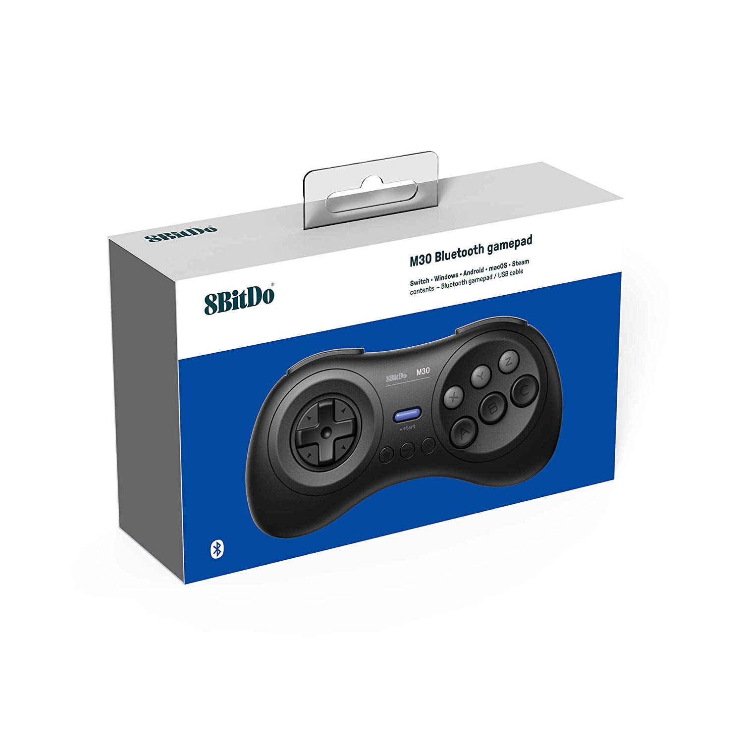 "Packshot for ""8BitDo M30 Bluetooth Wireless Pad"""