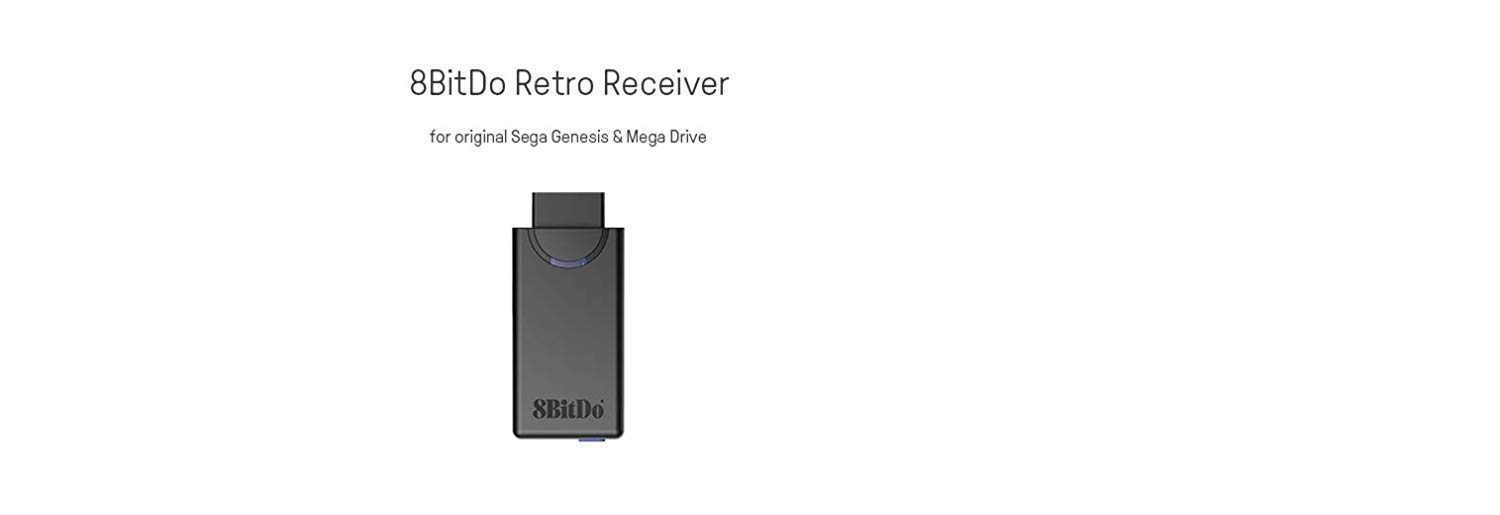 "Packshot for ""8BitDo M30 MegaDrive Retro Receiver"""