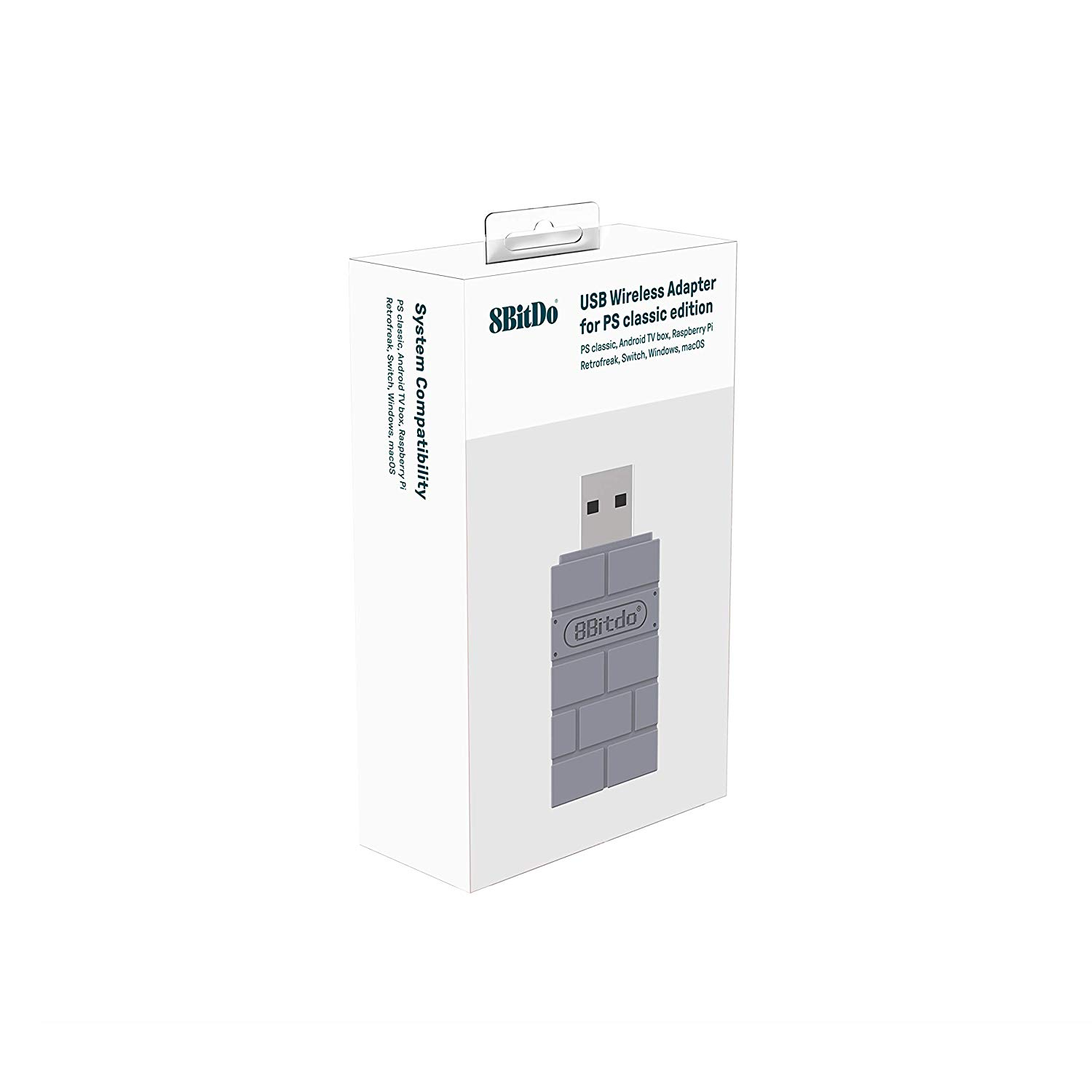 "Packshot for ""8bitdo USB Adapter PS Classic Ed."""