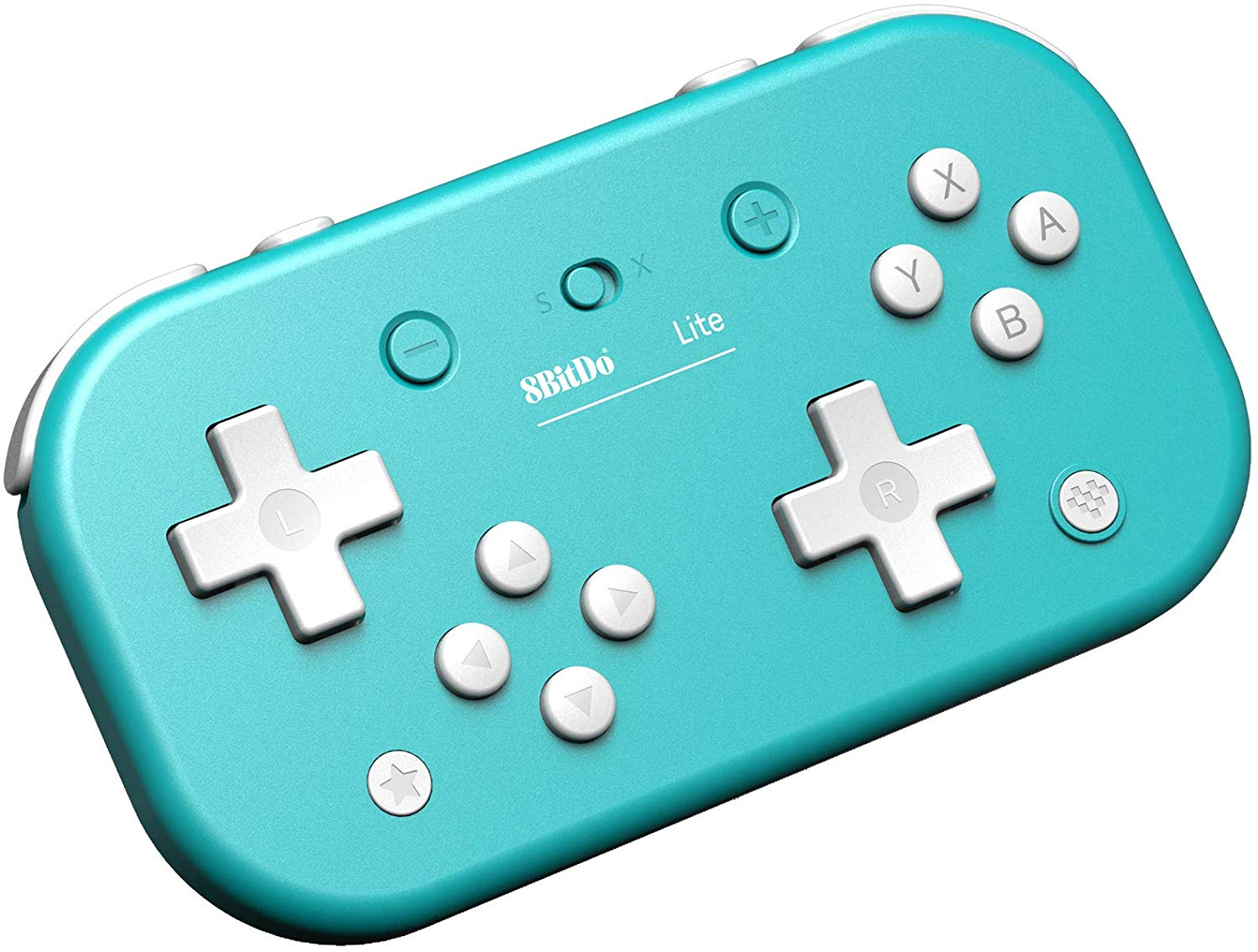 "Packshot for ""8BitDo Lite BT Gamepad Turquoise"""