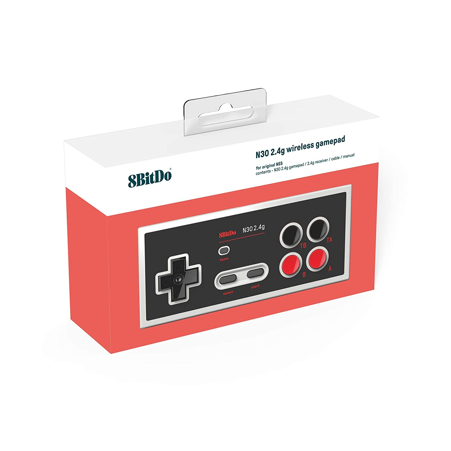 "Packshot for ""8Bitdo N30 2.4G NES Gamepad"""