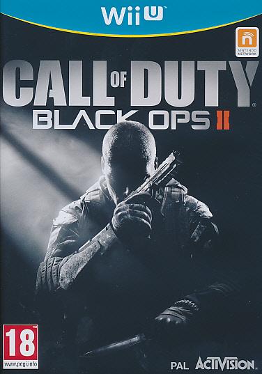 "Packshot for ""Call of Duty Black Ops 2 WIIU"""