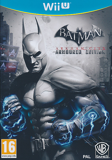 "Packshot for ""Batman Armoured Edition WIIU"""